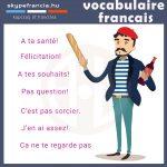 Francia szófordulatok
